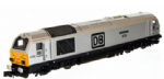 Dapol 2D-010-011 Class 67 029 Royal Diamond DB Silver